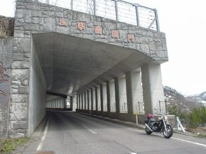 R385 浅草岳洞門