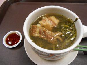 マレー料理「豚肉と薬草のスープ」