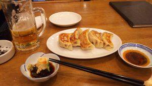 「広華」の焼き餃子