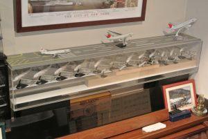 1/500の飛行機模型を集めてます