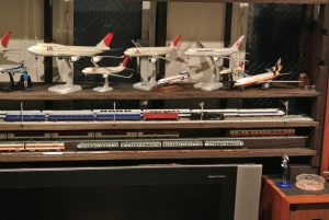 1/200の航空機模型を集めています