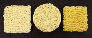 インスタント麺の種類