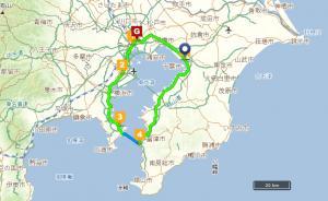 東京湾一周地図01