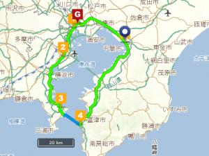 東京湾一周地図02