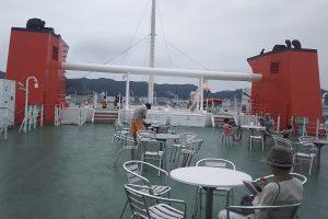 航海船橋甲板・後部暴露スペース